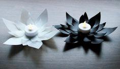 Milk Jug Lotus Flower Votives