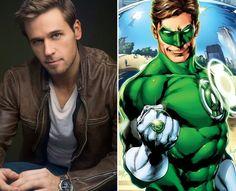 Dan Amboyer as Green Lantern II (Hal Jordan)