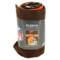 CLEVELAND BROWNS NFL BLANKET - FREE SHIPPING $20.00