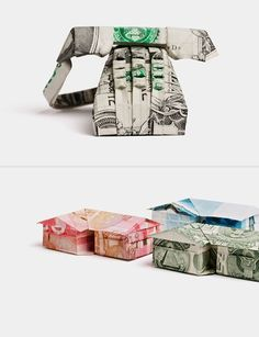 Origami Money Art