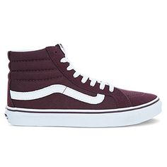 Vans Womens Sk8 Hi Slim Skateboarding Shoes 10 BM US Women 85 DM US Men Iron 7b23ee2b88e99