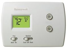 Honeywell TH3110D1008 Pro Non-Programmable Digital Thermostat by Honeywell. $35.86. From the Manufacturer                The PRO non-programmable family of thermostats provides basic and simple operation with specific models for conventional and heat pump systems.                                    Product Description                TH3110D1008 NON-PROGRAMMABLE DIGITAL THERMOSTAT, STAGES:1-HEAT/1-COOL CONVENTIONAL AND HEAT PUMP, VOLT:24, HEAT TEMPERATURE RANGE:40...