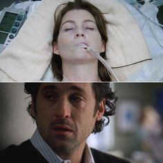 Best Meredith and Derek Moments | Ellen Pompeo | 5. When McDreamy cries, the whole world cries. Meredith ...