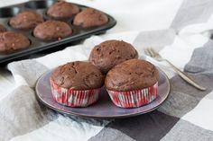 Schoko Zucchini Muffins *** Chocolate Courgette Muffins | orangenmond.at