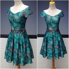 Dress Simple Dresses, Summer Dresses, Batik Dress, Kebaya, Party Dress, Collection, Fashion, Purple Gowns, Dress