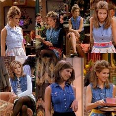 35 Looks Rachel Green Wore On 'Friends' That Are Trendy In 2017 People watching in the would have had no idea that Rachel was dressing like we do in Rachel Green Outfits, Rachel Green Costumes, Friends Rachel Outfits, Estilo Rachel Green, Rachel Green Friends, Rachel Green Style, Friend Outfits, Friends Tv, Rachel Green Fashion
