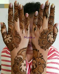 Khafif Mehndi Design, Mehndi Designs For Girls, Modern Mehndi Designs, Dulhan Mehndi Designs, Mehndi Design Pictures, Wedding Mehndi Designs, Mehndi Designs For Fingers, Latest Mehndi Designs, Henna Tattoo Designs