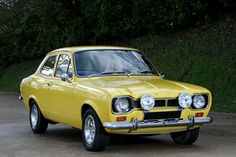 Ford Escort like my baby !I passed my test in one of these beuties Classic Cars British, Ford Classic Cars, Escort Mk1, Ford Escort, Ford Rs, Car Ford, Retro Cars, Vintage Cars, Automobile