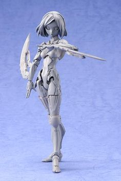 New Battle Angel Figurine - ^Ripper's Anime Page Awesome Toys, Cool Toys, Tokyo Shopping, Frame Arms Girl, Robot Girl, Futuristic City, Sculpture Ideas, Female Anime, Plastic Models