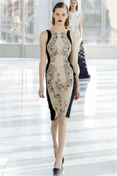 Sfilata Antonio Berardi London - Collezioni Autunno Inverno 2013-14 - Vogue