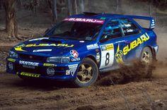 Subaru Impreza rally car Subaru Wrc, Subaru Rally, Rally Car, Subaru Impreza, Wrx, Off Road Racing, Dream Garage, Fast Cars, Mazda