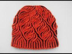 Шапка женская. Бриошь - Women's hats. Brioche - YouTube