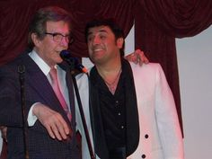 El gran Silvio Soldán junto a Eduardo Romero en Bajo Vento