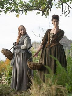 jamie, claire of the outlander series - - no Pinterest herb page would be complete without the Outlander herbal ladies, especially Claire. Glad to have found this shared pin.