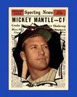 1961 Topps Set Break #578 Mickey Mantle EX-EXMINT