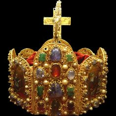Holy Roman Empire Imperial Crown - back view