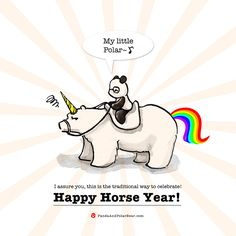 Happy Chinese New Year! This year is the Horse year!