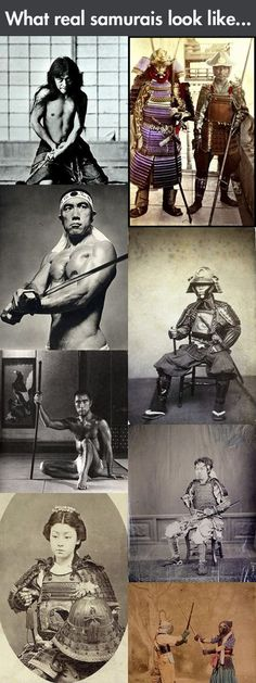 Funny pictures about Real life samurais. Oh, and cool pics about Real life samurais. Also, Real life samurais. Japanese History, Japanese Culture, Japanese Art, Samurai Weapons, Samurai Armor, Real Samurai, Tattoo Samurai, Character Inspiration, Character Design