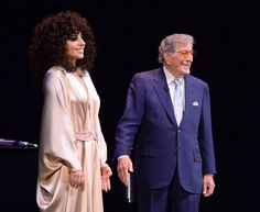 Lady Gaga and Tony Bennett at Frank Sinatra School of Arts 5