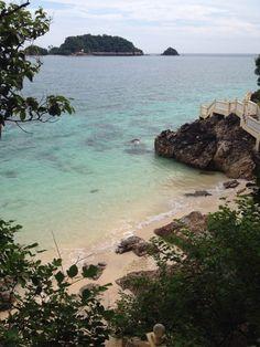 Pulau Kapas and Gem island on the back ground, east coast Malaysia