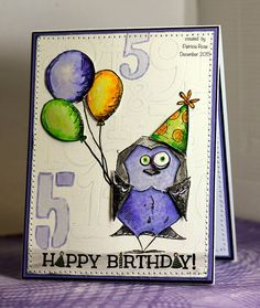 FS464, Happy 5th birthday Austin by kokirose - Cards and Paper Crafts at Splitcoaststampers