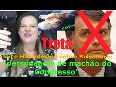 JOICE HASSELMANN detona BOLSONARO (veja antes que saia do ar)
