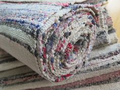 Carpet Runners Rubber Backed Carpet Runner, Rug Runner, Shabby, Vintage Country, Country Style, Runners, Stripes, Throw Pillows, Blanket