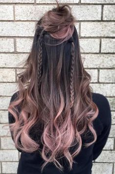 Dark Ombre Hair Ideas for Brunettes ★ See more: http://lovehairstyles.com/dark-ombre-hair/ #braidhair