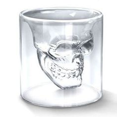 $12.99 - NOW 8.95 Shot Glass Skull Head Crystal Cups These custom designed Shot Glass Skull Head Crystal Cups are a MUST HAVE! Designed with premium high quality material! ...And you can get it NOW, b