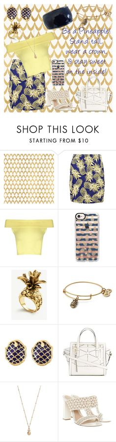 """""""Stay Sweet!"""" by chickadee73 ❤ liked on Polyvore featuring Barclay Butera, Boohoo, Casetify, Ann Taylor, Alex and Ani, Yves Saint Laurent, Salvatore Ferragamo, LC Lauren Conrad and Alexander McQueen"""