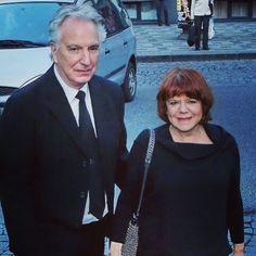March 19, 2015 -- Alan Rickman & Rima Horton arrive at 22nd Febiofest Int'l Film Fest.