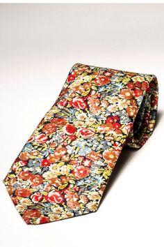 Pomp & Ceremony men's tie, Liberty of London by pompandceremony, $75.00