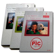 3 PACK 4x6 frames Available June 2014. $12.99 - Black, Green or Red
