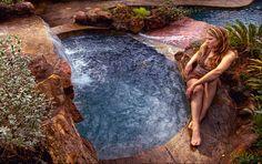 Backyard Spa