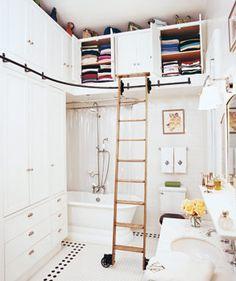 Se o seu quarto é pequeno: uma ótima dica e super criativo!!