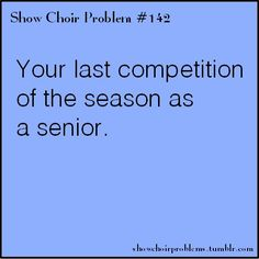 #142, your last competition of the season as a senior. :( that was a sad day i tell ya.