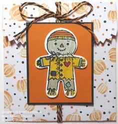 Have fun with the Cookie Cutter Halloween Stamp Set and Cookie Cutter Punch in making a treat bag with the Mini Treat Bag Thinlits Dies. https://www.stampinup.com/ECWeb/ProductDetails.aspx?productID=137547&dbwsdemoid=54345