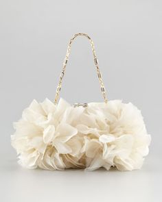 Brooke Floral Clutch Bag by Judith Leiber at Neiman Marcus.