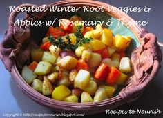 Roasted Winter Root Veggies
