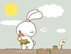Carrot Love by *sweet-kitteh on deviantART