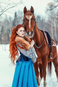 New photography fantasy girl pictures Ideas Horse Girl Photography, Fantasy Photography, Animal Photography, Family Photography, Photography Ideas, Fantasy Girl, Beautiful Redhead, Beautiful Horses, Red Lace Front Wig