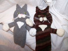 Crochet cat golf club cover this is for 1 cover by EEKsCreations on Etsy