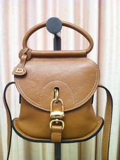 Oh My! Love this!  DELVAUX Leather Handbag Handmade in Brussels by papushka on Etsy.