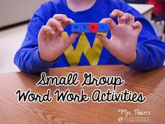 Bright Idea for Small Group Word Work