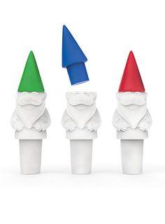 Guardian Gnome Bottle Stopper & Pourer