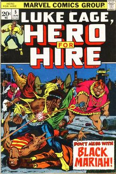Hero for Hire #5.