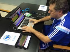 Argentina Analyst - Marcelo Ramos live coding using #SportsCode and #icoda in World Cup match against Bosnia