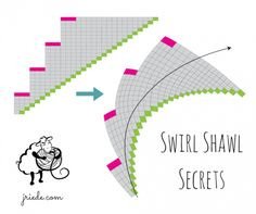How To Increase The Number Of Stitches When Knitting : Knitting / Crochet on Pinterest Shawl, Knitting and Garter Stitch