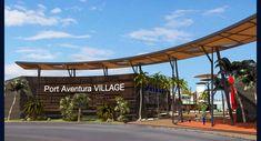 mbo + ARQUITECTURA | Centro Comercial Port Aventurambo arquitectura Office Building Architecture, Modern Architecture Design, Facade Architecture, Vale Hotel, Plaza Design, Strip Mall, Entrance Gates, Facade House, Shopping Center