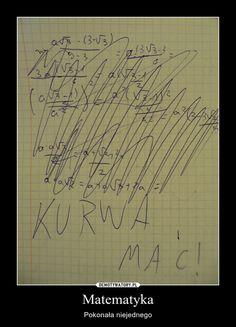 Matematyka – Pokonała niejednego